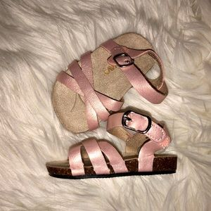 Old Navy baby girl pink sandals
